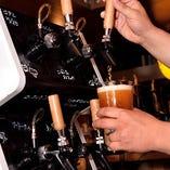 タップマルシェを導入!4種のクラフトビールをお楽しみいただけます!