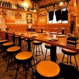 《店舗貸切》大人数のご宴会にはどこか懐かしい雰囲気と美味しいお料理で楽しいひと時をお過ごしください。