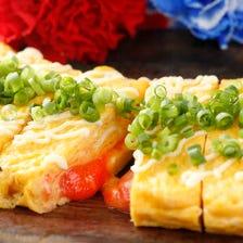 明太子とチーズの玉子焼き