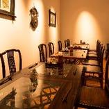 半個室テーブル席と、完全個室お座敷★