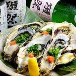 [石巻より直送] 当店の生牡蠣は鮮度が違う!300円でコースに+!