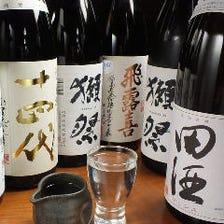 蒲田の中でも圧倒的な日本酒の品揃え