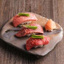 炙り和牛肉寿司食べ放題2980円~