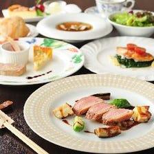 お箸で洋食を味わえるレストラン