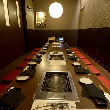 飛騨牛焼肉 にくなべ屋 朧月(おぼろづき) 豊田キタ町店 店内の画像
