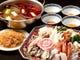 冬の人気メニュー「重慶風火鍋」