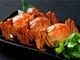 上海蟹も期間限定ですが蘭蘭の代表メニューです