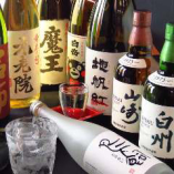 厳選したお酒も豊富に取り揃えております!