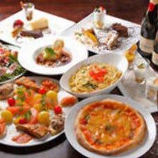 【送別会・歓迎会に◎】大人気ピッツァ食べ放題!リーズナブルに宴会を♪カジュアルコース3000円