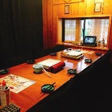 8名様用テーブル完全個室