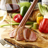 あいち鴨と倉敷野菜、厳選ワインのマリアージュ