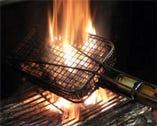 最高級紀州備長炭使用  炭火で焼き上げる料理は絶品!