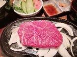 神戸牛ランプステーキランチ
