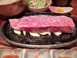 神戸牛イチボステーキランチ
