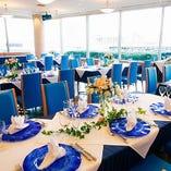 【2~4名様】テーブル席/陽光が差し込む明るいお席は女子会や同僚とのランチに◎