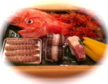 魚は天然物のみご用意しております。