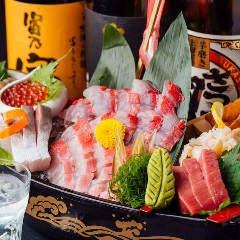 全席個室居酒屋 まぐろ食べ放題 魚三蔵 浅草橋本店
