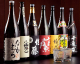 日本酒20種、焼酎30種の品揃い!
