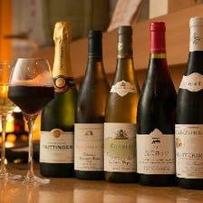 和食に合うワイン取り揃えています!