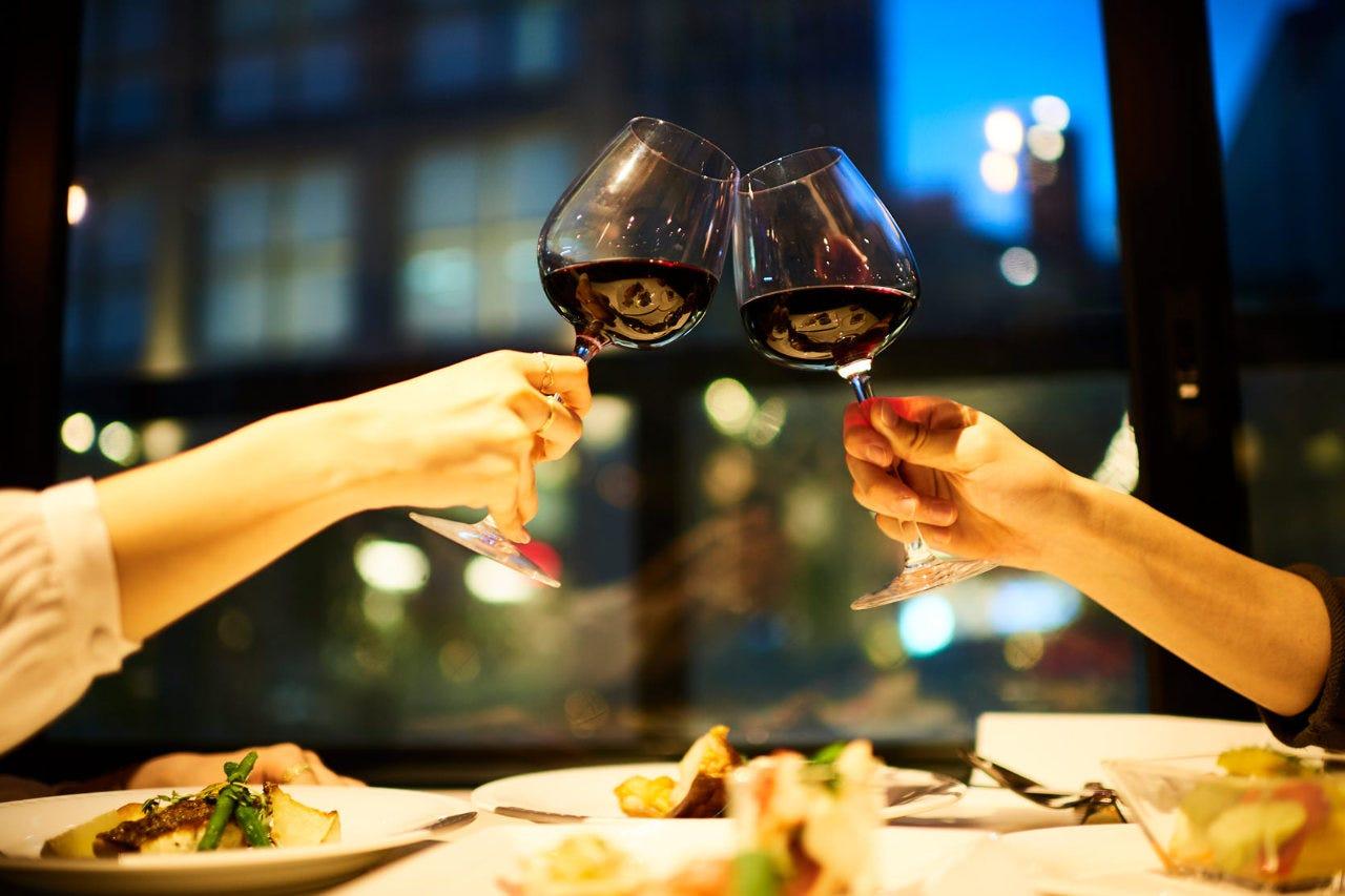 新宿の空中庭園レストランで 開放感溢れるパーティーをどうぞ♪