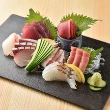 大人気!新鮮な魚料理♪