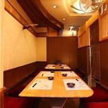 ◆感染防止策としてお席空間を幅広くご用意しております。