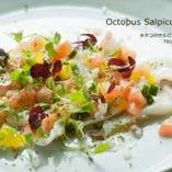 素材にこだわった料理には四季折々の食材を使用!