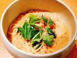 こだわりスープにもちもち麺のもっさむラーメン