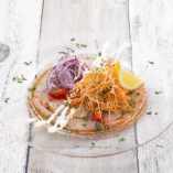 本日の鮮魚と彩野菜のカルパッチョ