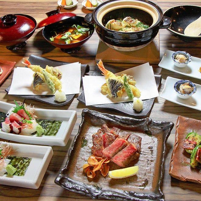 和食×自慢の鉄板焼きを楽しめる 『ぞろんぱコース』