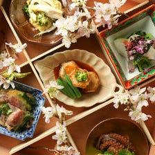 和食から魚・肉料理と幅広く取揃え