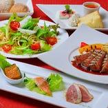 牛フィレ肉ステーキスペシャルランチコース【記念日お祝い対応OK】