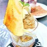 イタリアンマロンのアイスとカタラーナのパフェ