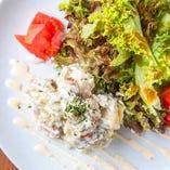 ゴルゴンゾーラのポテトサラダ