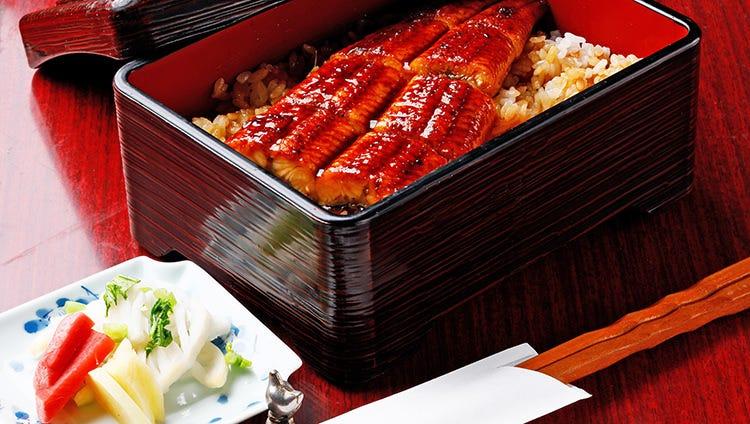ランチで気軽にうなぎ丼定食1,500円