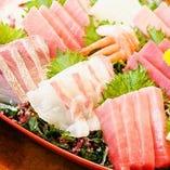築地直送の鮮魚は日本酒のお供としても最高◎【東京都・築地】
