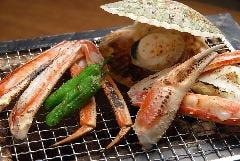 貝鮮焼 蟹