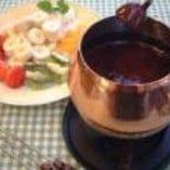 チョコレートフォンデュ(大)♪