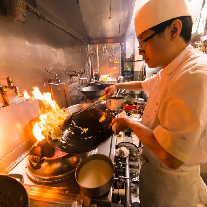 調理法にこだわった本格中華料理