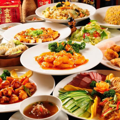 個室中華 食べ放題 香港美味楼 落合店 コースの画像