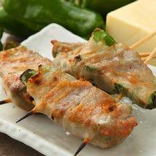 トロッとチーズ「ピー肉チーズ巻」