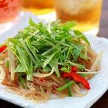 地野菜のチャプチェ
