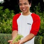 〈朝採れ野菜〉 自家農園で育てた野菜を完熟ギリギリで栽培♪