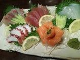 魚刺身5種盛り