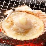 帆立のバター焼