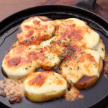 男爵芋のチーズ焼