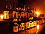 自慢の焼酎や日本酒もあるので水炊きと御一緒にどうぞ!!