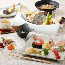 新鮮な海鮮料理と厳選日本酒