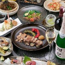 奈良県名産・大和肉鶏を使った肉料理