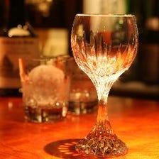 お酒の種類が豊富です!